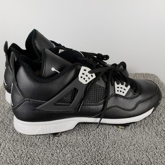 0b9ba5d1956 Jordan Shoes | Retro Iv 4 Sz 12 13 Metal Baseball Cleats | Poshmark